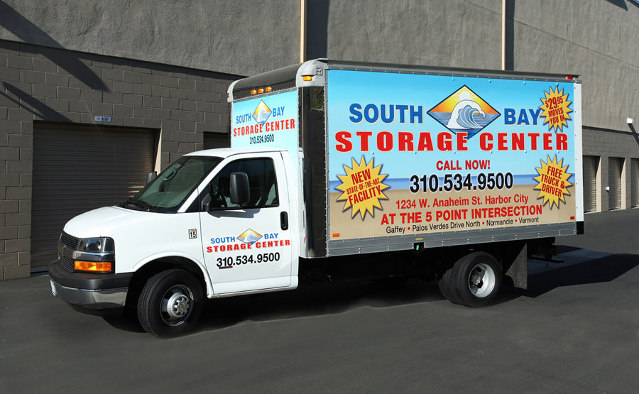 South Bay Self Storage Moving Truck