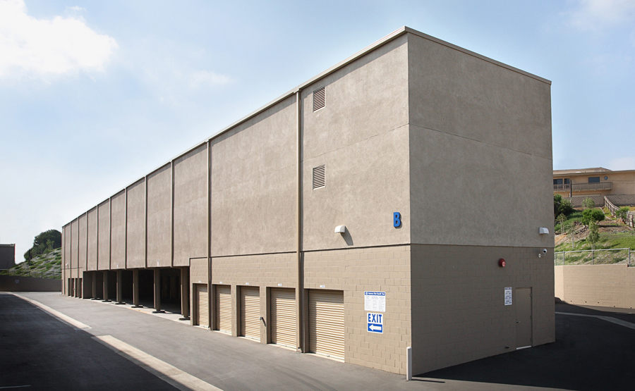 Self Storage Rental Building
