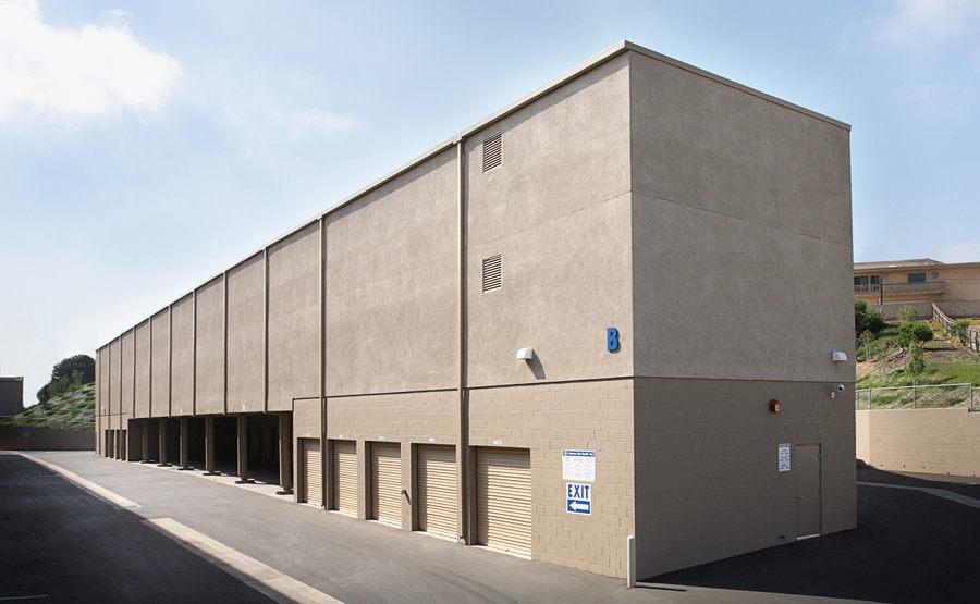 Self Storage Rental Building